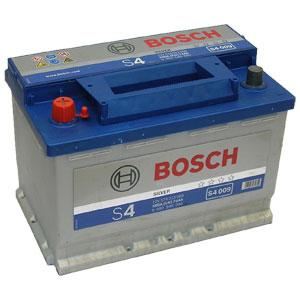 Автомобильный аккумулятор BOSCH S4 009 Silver 12V 74Ah 680A прямая полярность (0092S40090)