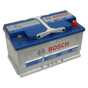 Автомобильный аккумулятор BOSCH S4 010 Silver 12V 80Ah 740A обратная полярность (0092S40100)