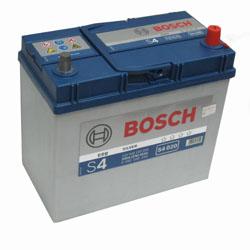 Автомобильный аккумулятор BOSCH S4 020 Silver 12V 45Ah 330A обратная полярность, тонкие клеммы (0092S40200)