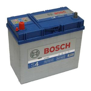Автомобильный аккумулятор BOSCH S4 022 Silver 12V 45Ah 330A прямая полярность, тонкие клеммы (0092S40220)