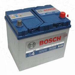 Автомобильный аккумулятор BOSCH S4 024 Silver 12V 60Ah 540A обратная полярность (0092S40240)