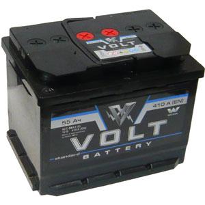 Аккумуляторная батарея Volt standart 6СТ-55 NR